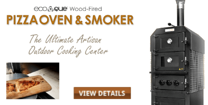 EcoQue Wood-Fired Pizza Oven & Smoker